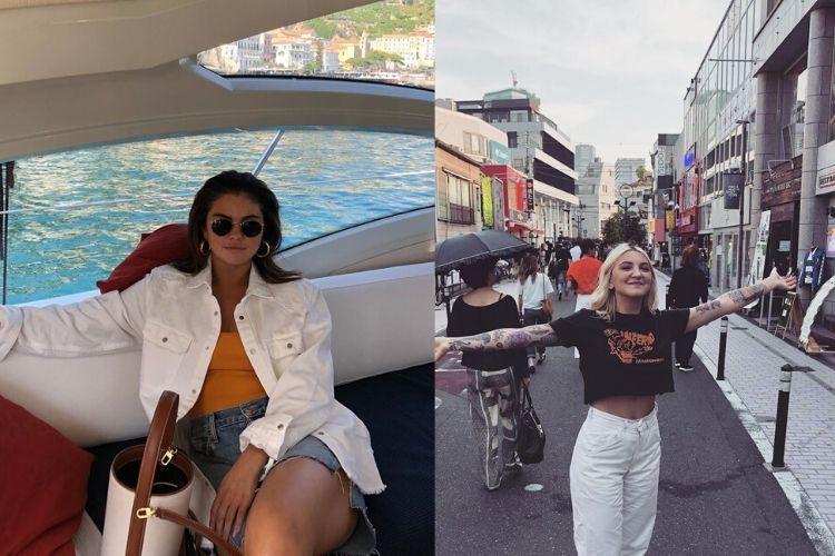 Kompak! Ini Gaya OOTD Selena Gomez & Julia Michaels yang Serupa