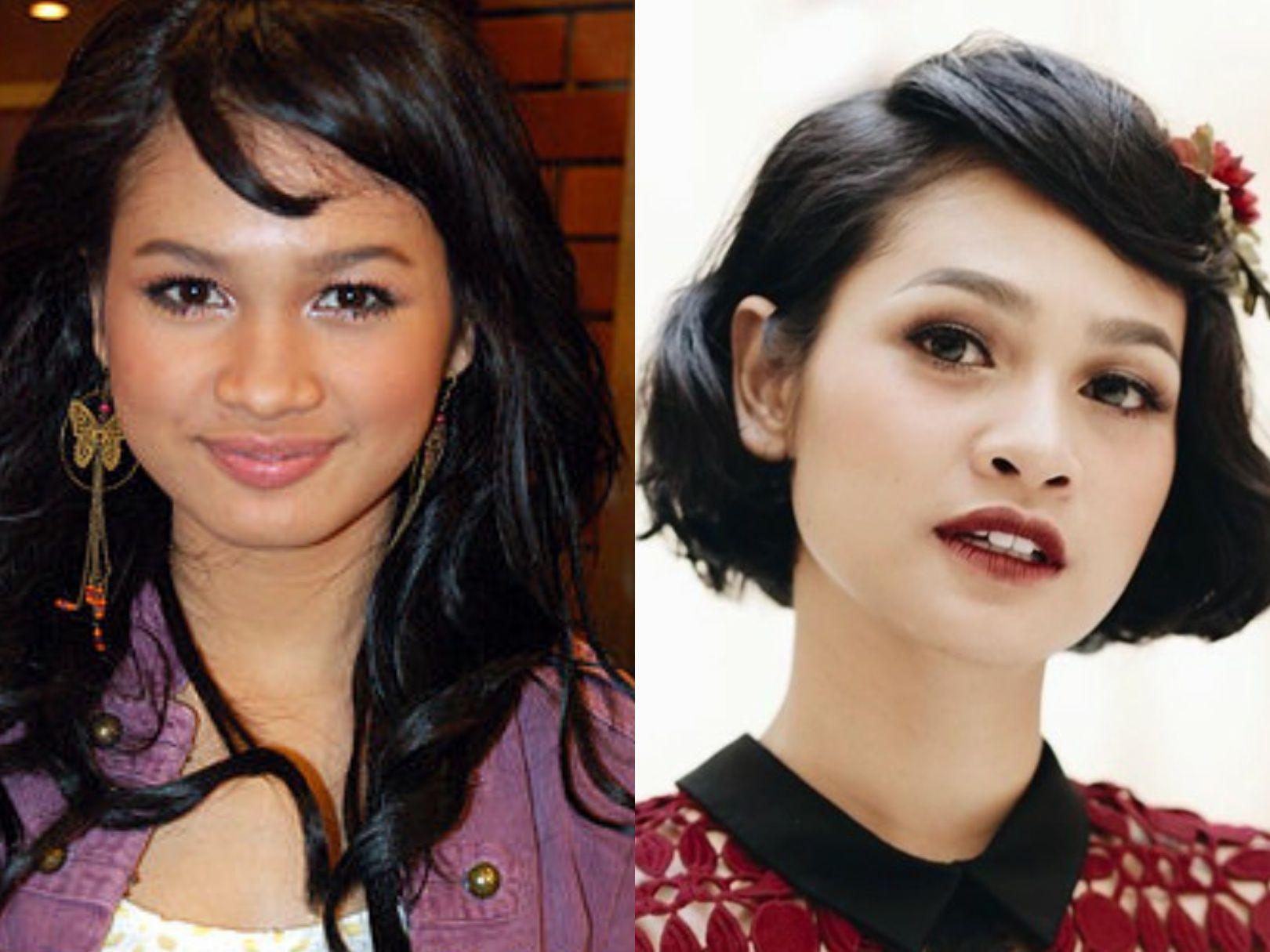 Perbedaan Gaya Makeup Artis Dulu dan Sekarang, Beda Banget!