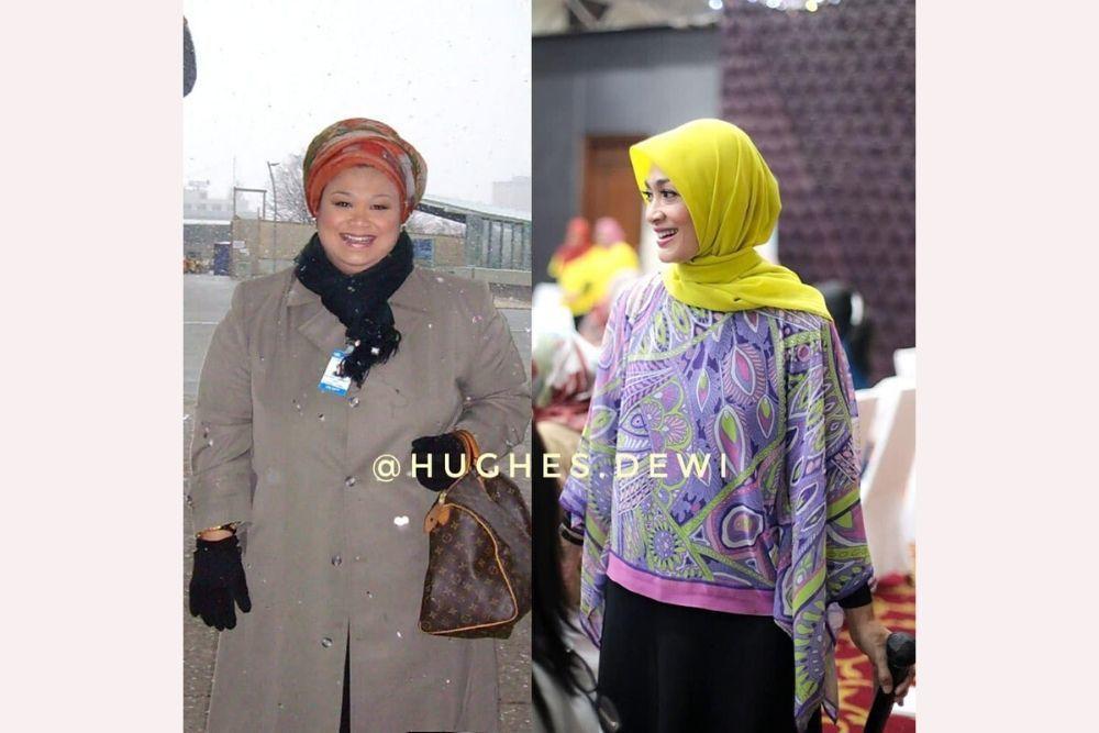 Berhasil Turun 80 Kg Dalam 15 Bulan, Ini yang Dilakukan Dewi Hughes