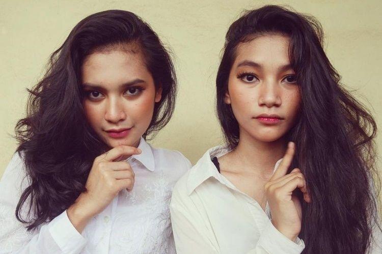 10 Potret Indah Permatasari dan Sang Adik, Bak Saudara Kembar!