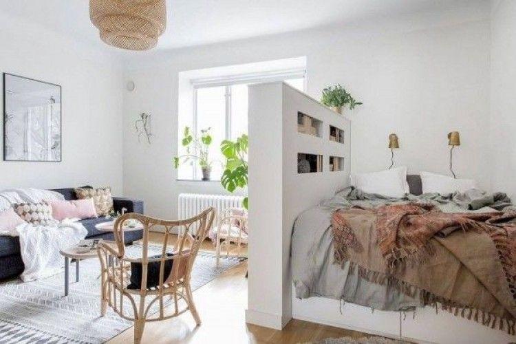 10 Inspirasi Desain Rumah Tipe Studio untuk Pasangan Muda