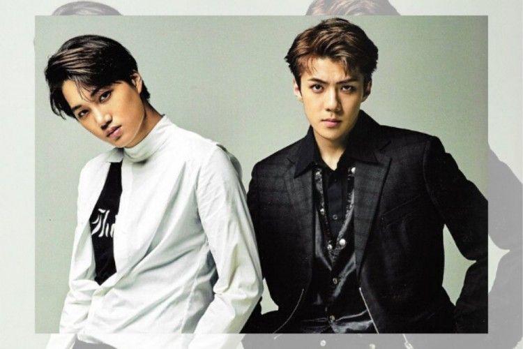 10 Potret Akrab Sehun dan Kai EXO yang Bikin EXO-L Makin Sayang