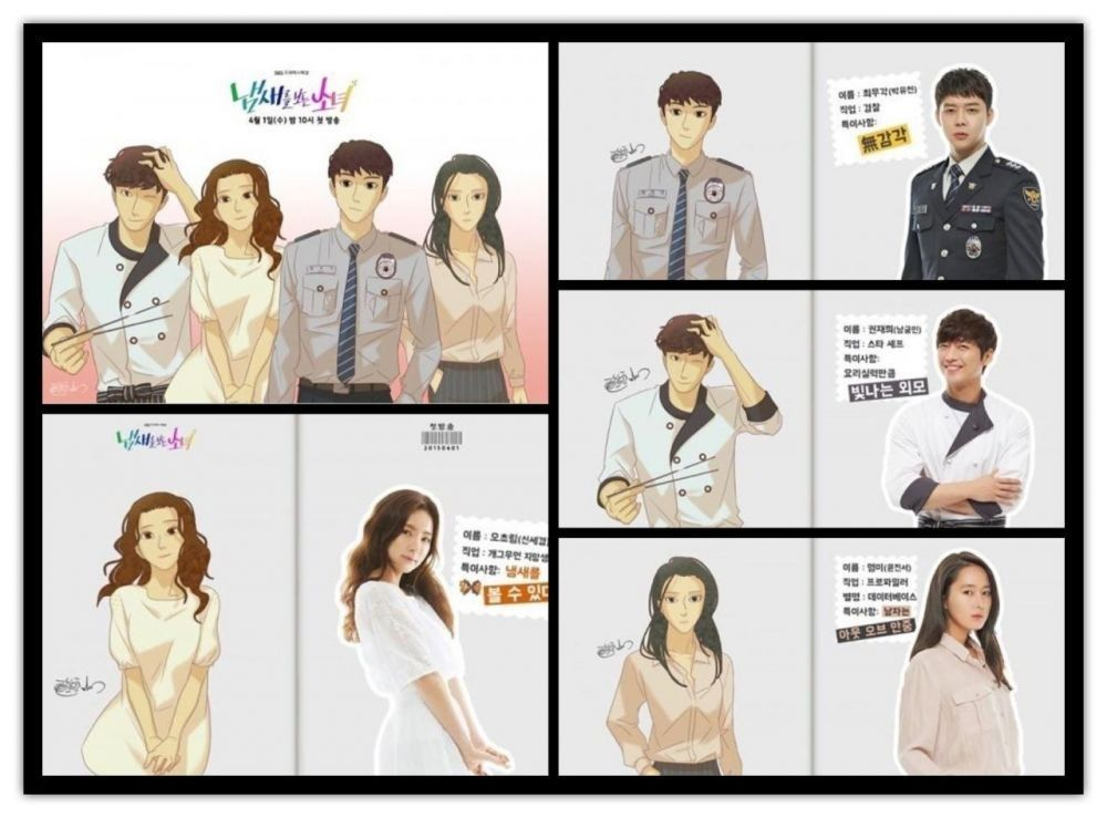 7 Webtoon yang Diangkat ke Drama Korea Romantis