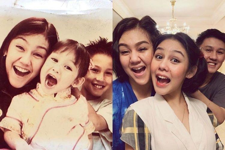 10 Foto Jadul Kedekatan Sissy, Jevin, & Vanesha, Sibling Goals!