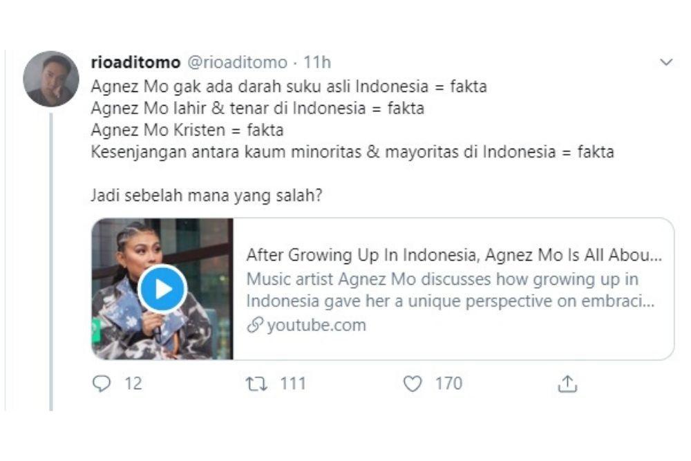 Agnez Mo Mengaku Tak Punya Darah Indonesia, Ini Faktanya