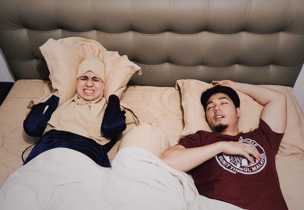 10 Potret Kocak Nycta Gina dan Rizky Kinos, Konyolnya Kompak!