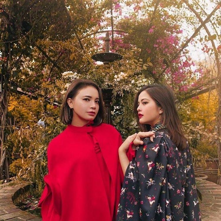 10 Potret Persahabatan Tasya Kamila & Rossa yang Bak Saudara Kandung
