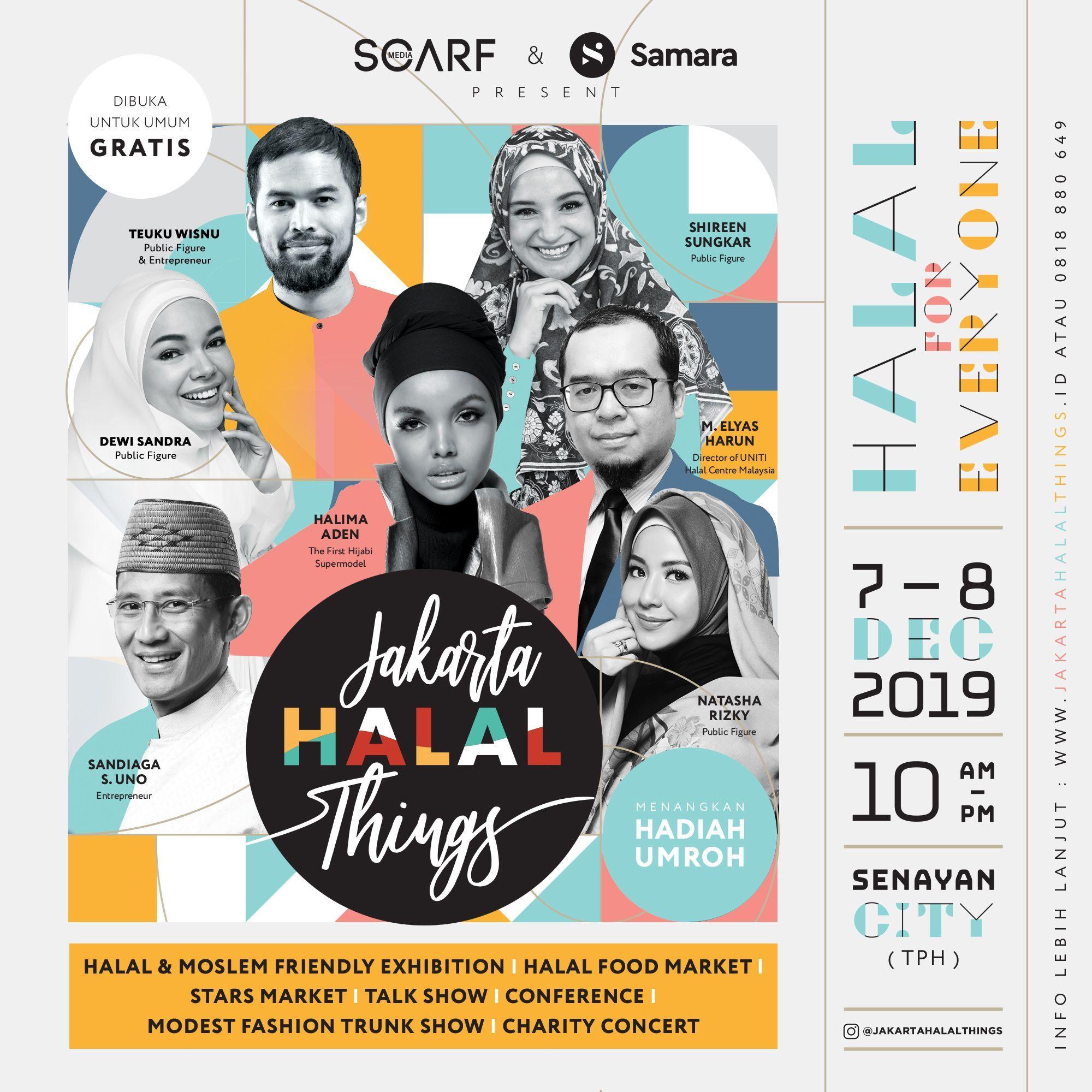 Jakarta Halal Things 2019, Membawa Gaya Hidup Halal untuk Semua
