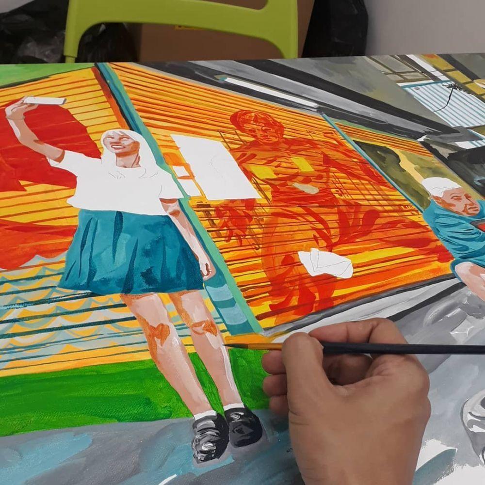 11 Ilustrator Indonesia yang Karyanya Mendunia, Keren Banget!