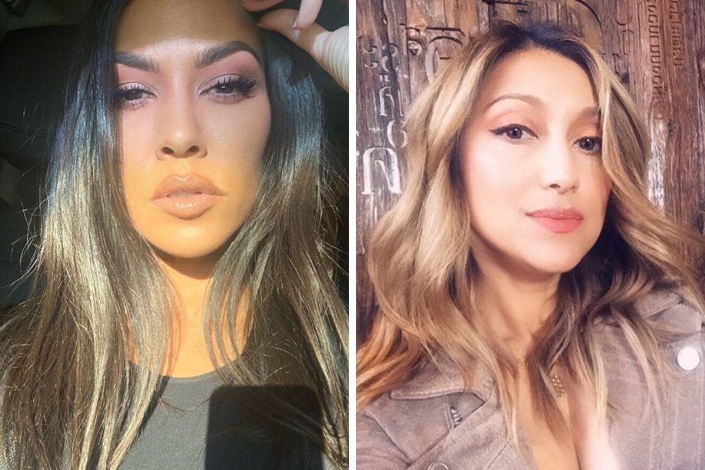 Begini Gaya Makeup Keluarga Azhari vs Keluarga Kardashian-Jenner