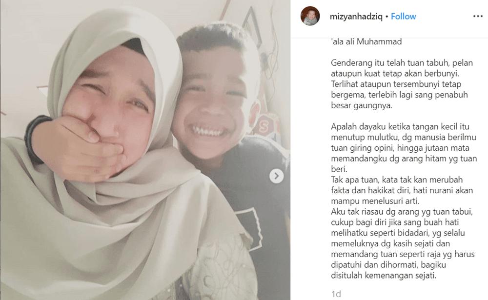 Curahan Hati Mantan Istri Ustaz Abdul Somad Setelah Putusan Cerai