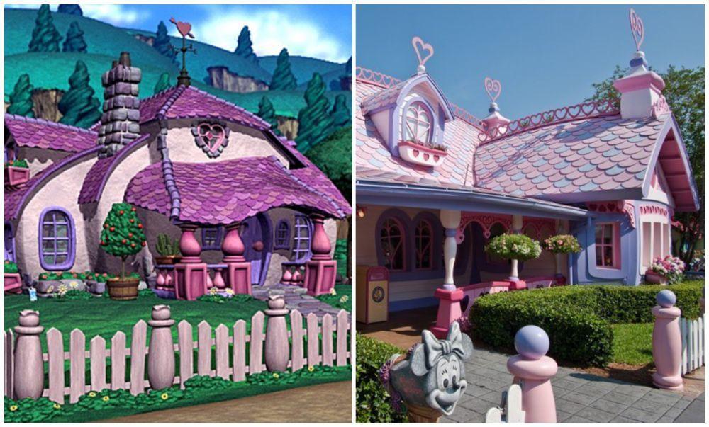 Menakjubkan! 8 Rumah di Film Kartun Ini Dibangun di Dunia Nyata