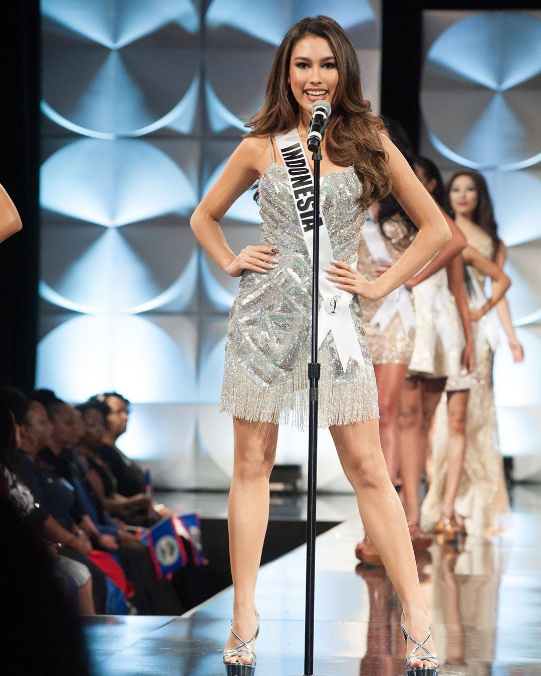 Masuk Top 10 Miss Universe 2019, Inilah 6 FaktaFrederika Alexis Cull