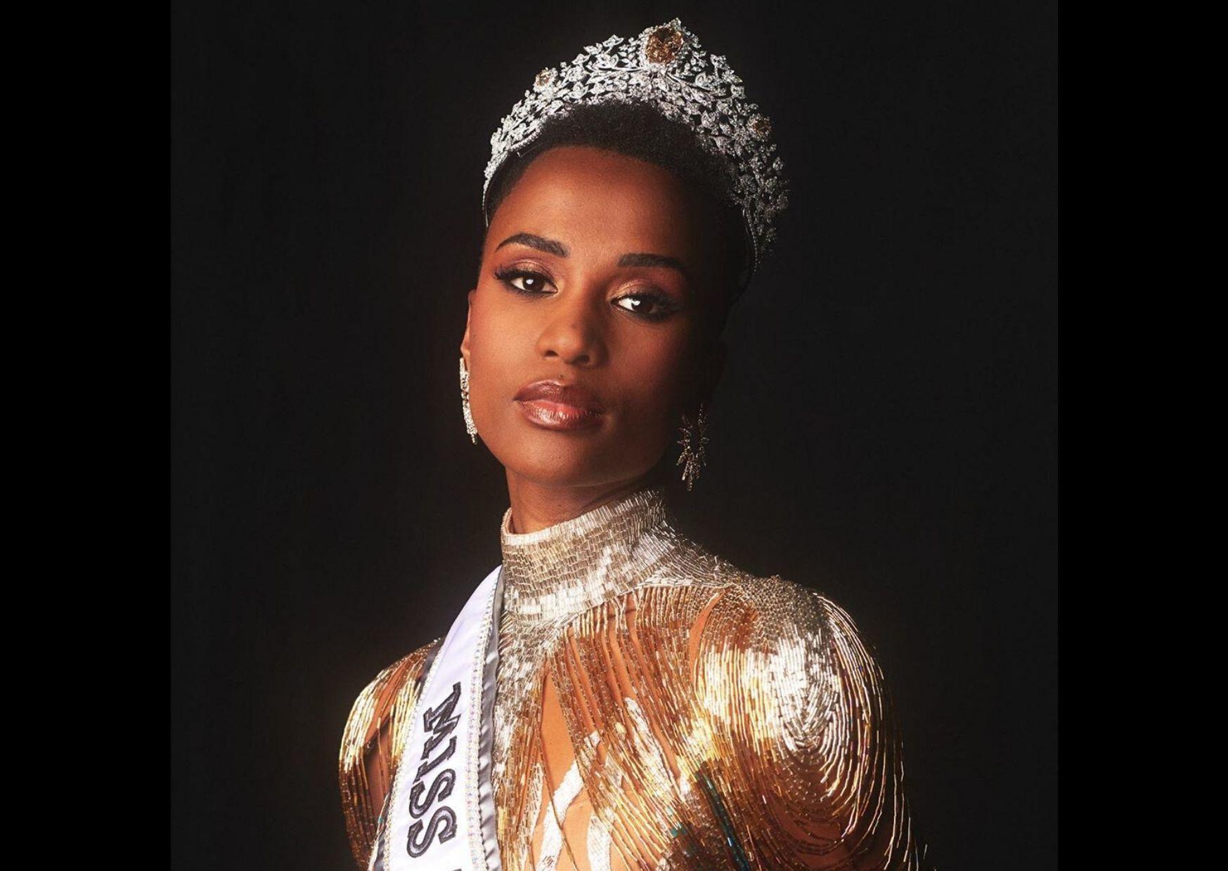 Patahkan Stereotip Kecantikan, Fakta Zozibini Tunzi Miss Universe 2019