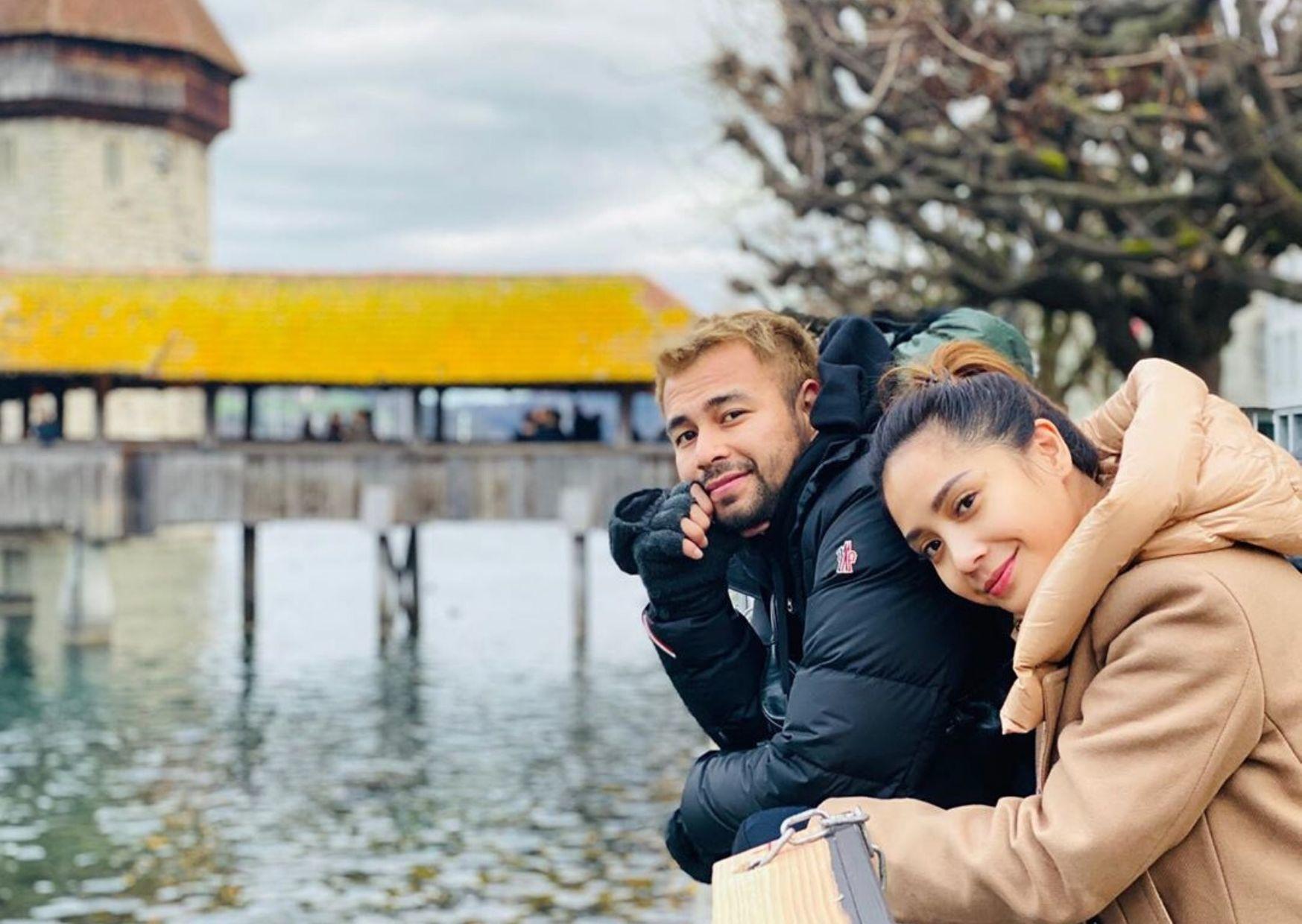7 Momen Raffi Ahmad dan Nagita Slavina Nikmati Salju di Swiss