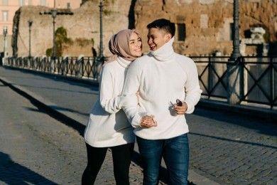Romantis Ini Lokasi Honeymoon Citra Kirana & Rezky Aditya Italia