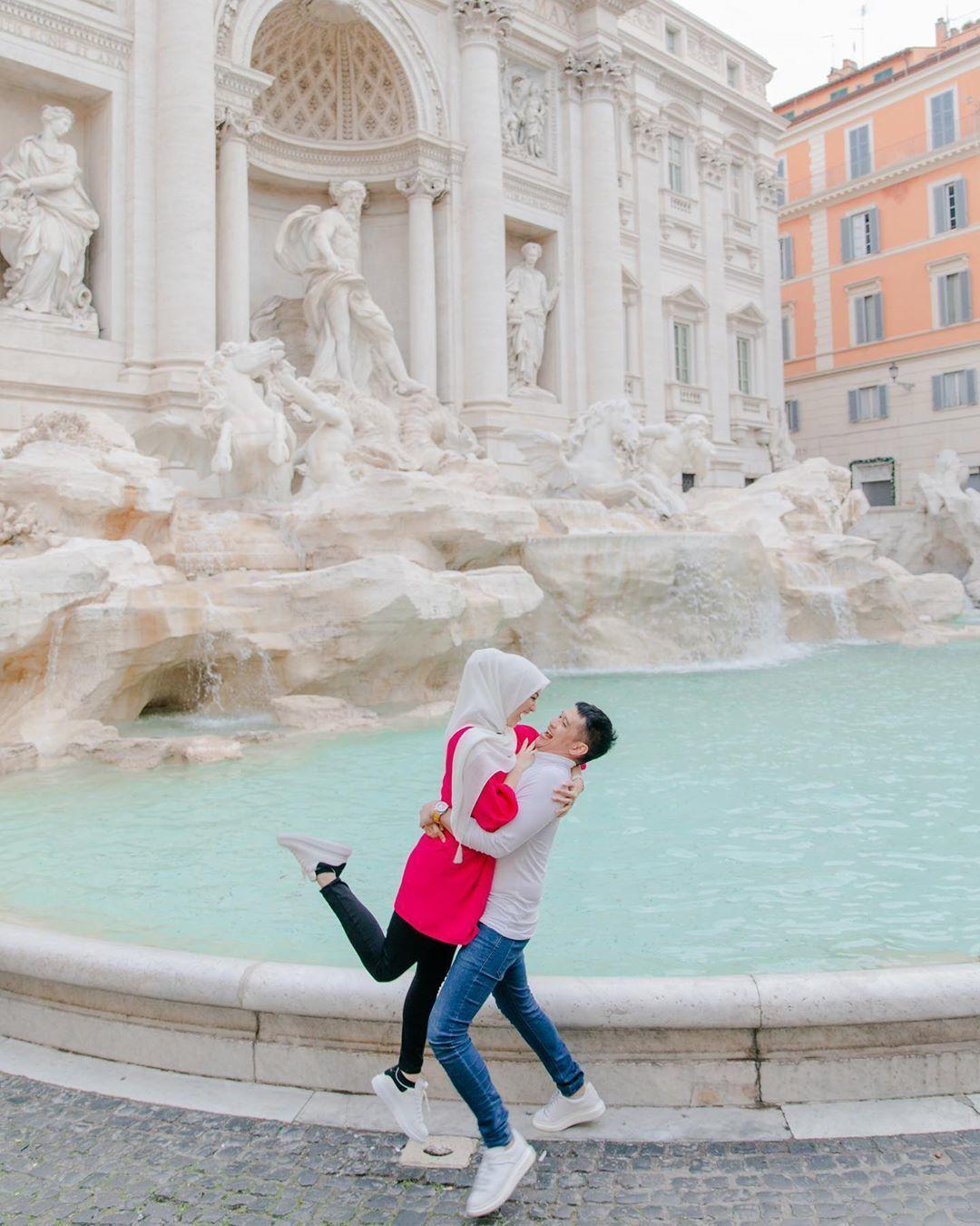 Romantis! Ini Lokasi Honeymoon Citra Kirana & Rezky Aditya di Italia