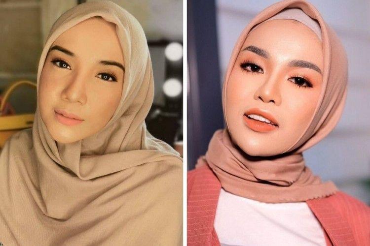 Zaskia Sungkar vs Medina Zein, Siapa yang Jadi Favoritmu?