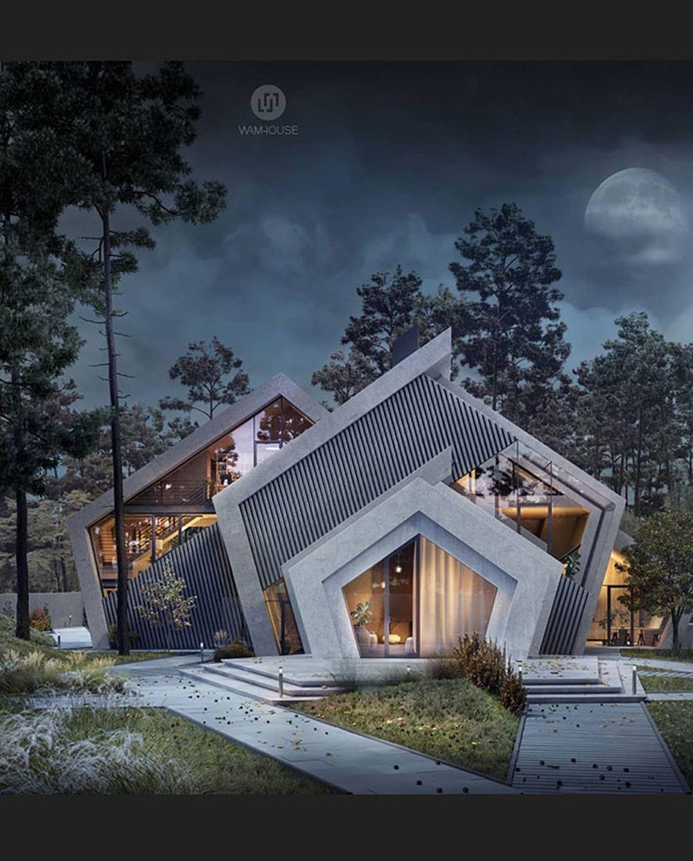 Cantik, Deretan Bangunan Ini Terinspirasi dari Logo Brand Terkenal