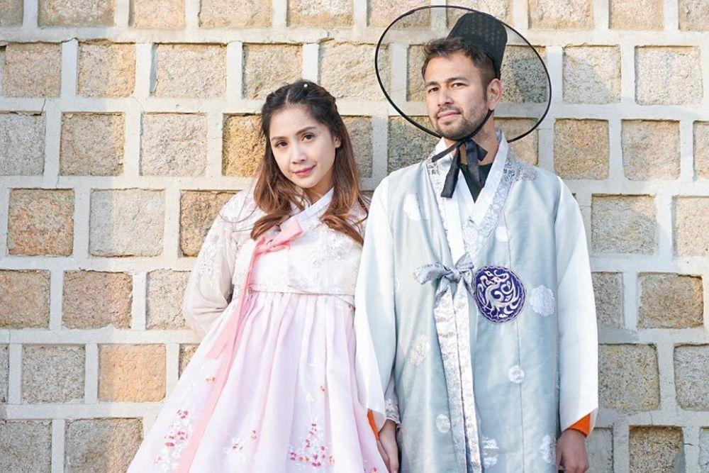 7 Gaya Riasan Nagita Slavina Ketika Mengenakan Pakaian Tradisional