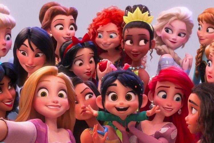 15 Karakter Disney Dibuat dalam Gender Berbeda,Begini Jadinya!