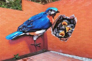 Aesthetic Keren, 20 Mural Ini Jadi Spot Favorit Instagramable