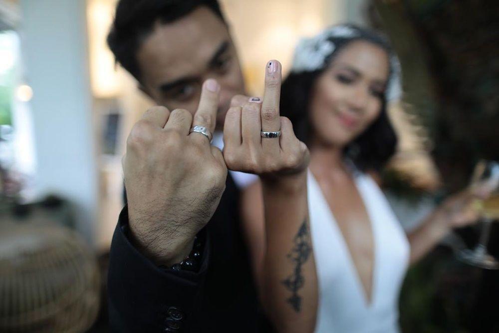 Selamat! Dipha Barus Resmi Menikah di Los Angeles