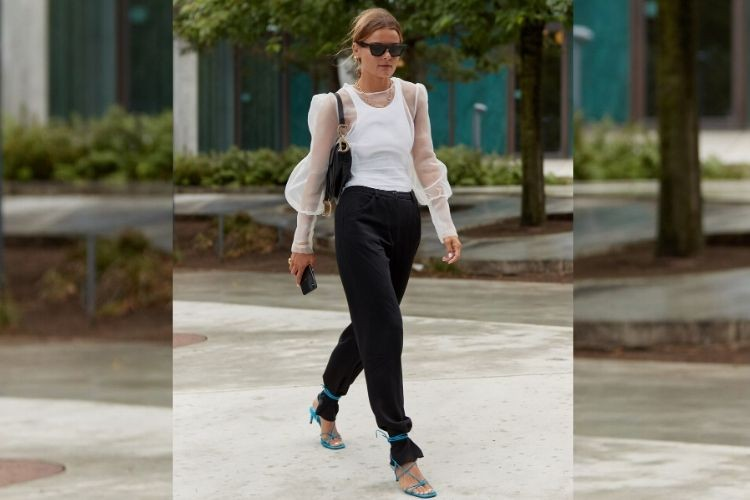 Coba Trend Baru dengan Celana Ankle-Tie!