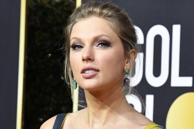 Intip Momen Mesra Taylor Swift dan Joe Alwyn di Golden Globes 2020