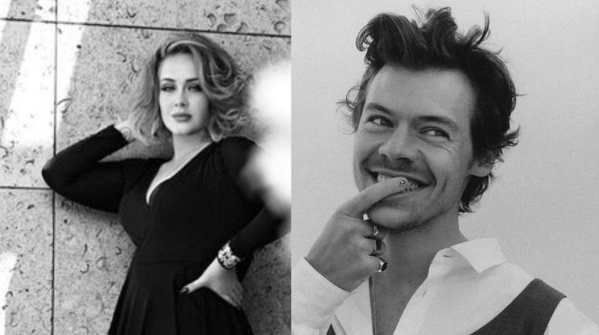 Liburan Bareng, Ini Kisah Persahabatan Adele dan Harry Styles