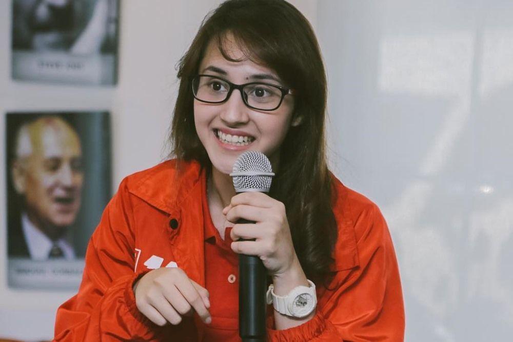 #IMS2020: Tsamara Amany Geluti Politik Perjuangkan Hak Perempuan