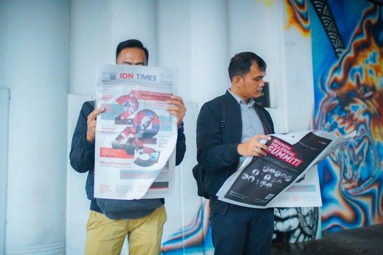 Lihat Bagaimana Indonesia di Tahun 2045 Lewat #KoranIDNTimes