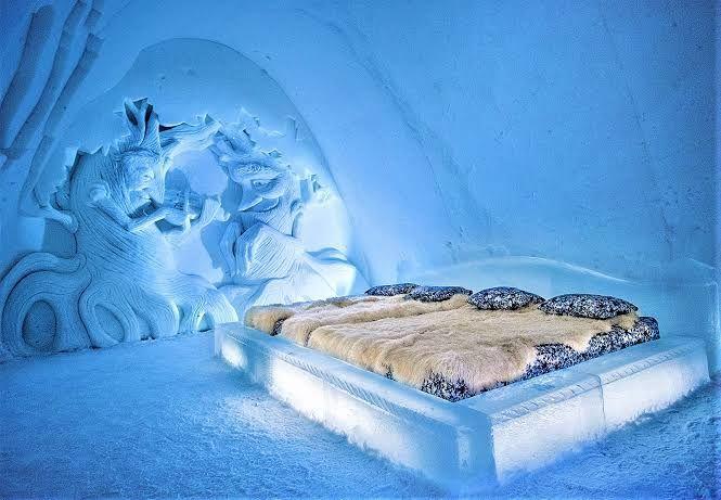 Tidur di Dalam Es, Ini 5 Rekomendasi Hotel Musim Dingin Terbaik