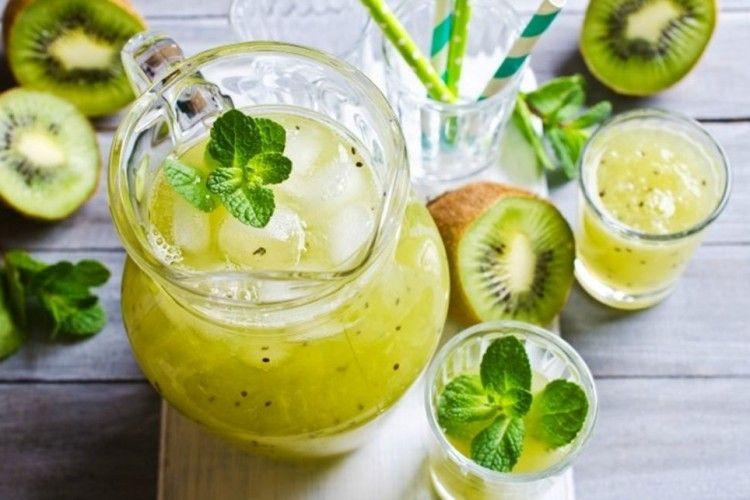 Resep Es Kiwi Lemon yang Enak dan Sehat