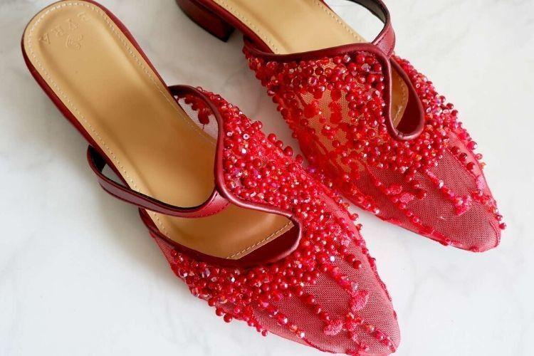 #PopbelaOOTD: Pilihan Sepatu Merah untuk Rayakan Imlek