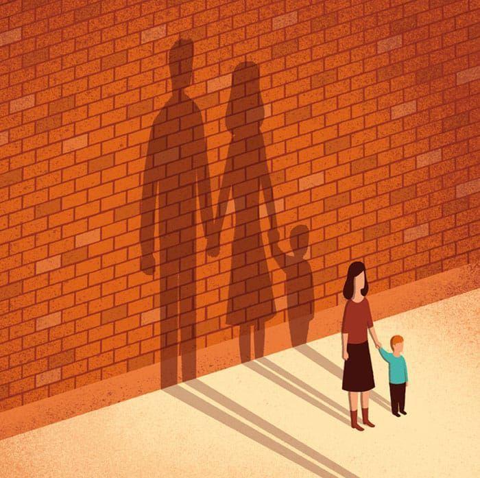 12 Ilustrasi Ini Menggambarkan Masyarakat Modern dan Problematikanya