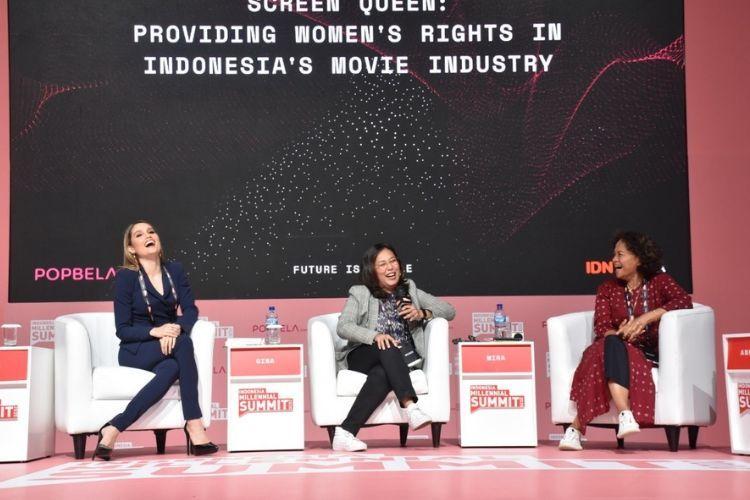 #IMS2020: Cinta Laura Kiehl Ditolak Main Film karena Kurang Feminim