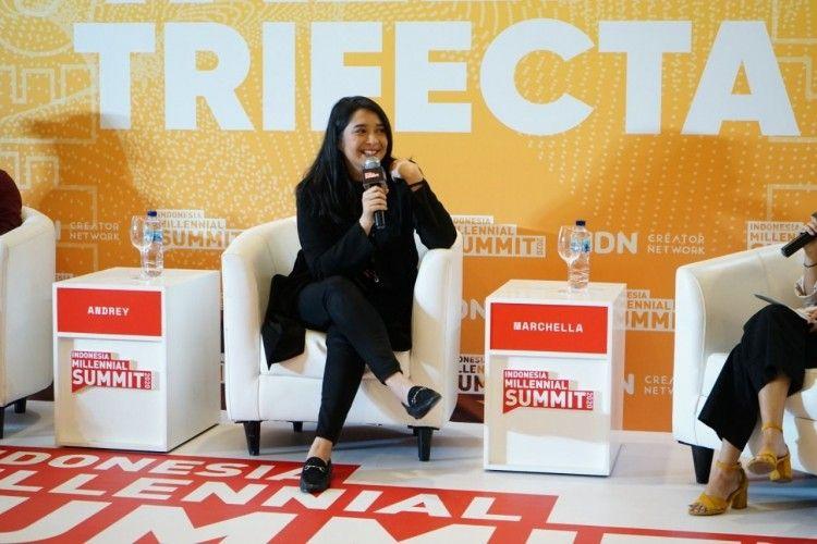 #IMS2020: NKCTHI Sukses, Ini Pesan Marchella FP untuk Penulis Pemula