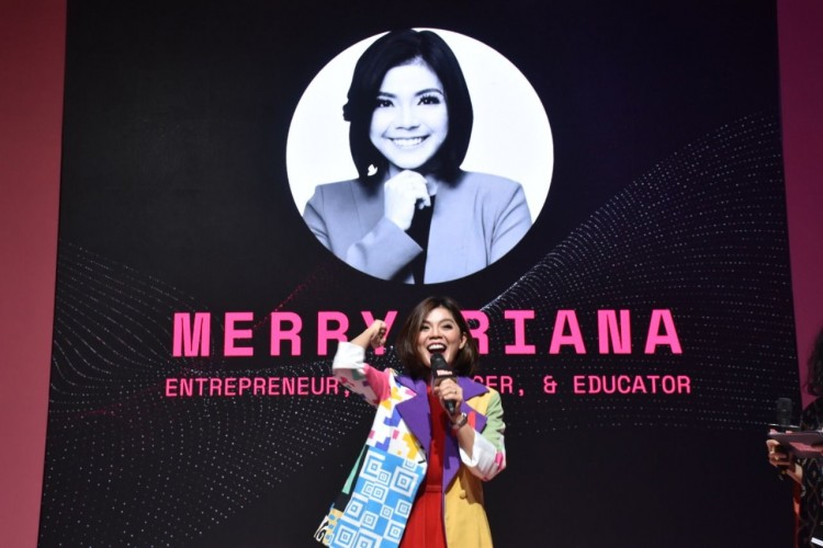 "#IMS2020: Merry Riana ""Hidup Jangan Banyak Protes Tapi Berproses"""