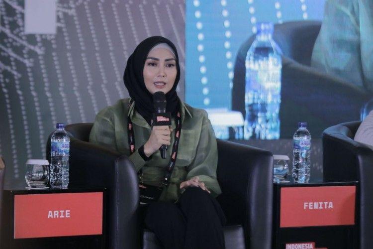 #IMS2020: Hijab Bukan Jadi Penghalang Karier Bagi Fenita Arie