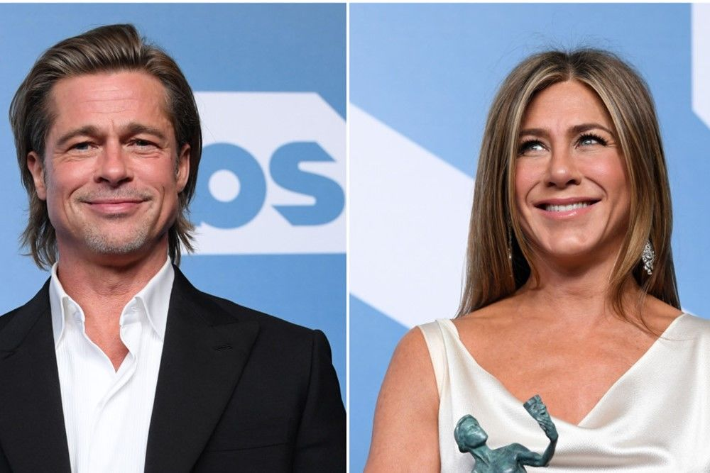 Momen Reuni Jennifer Aniston dan Brad Pitt di SAG Awards 2020