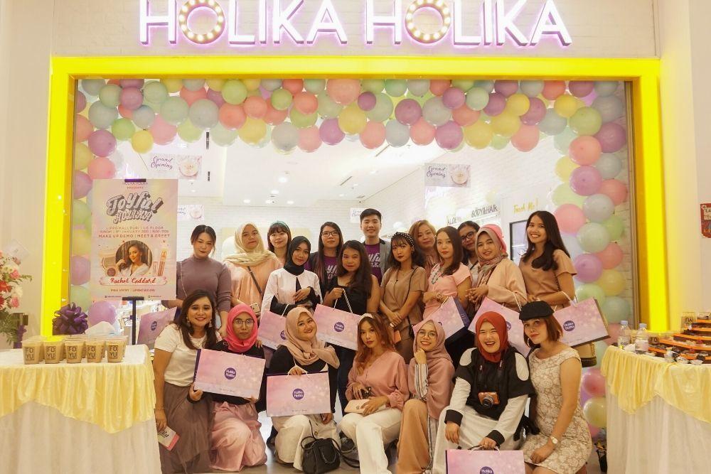 Buka Store Pertamanya, Ini Konsep yang Dihadirkan Holika Holika