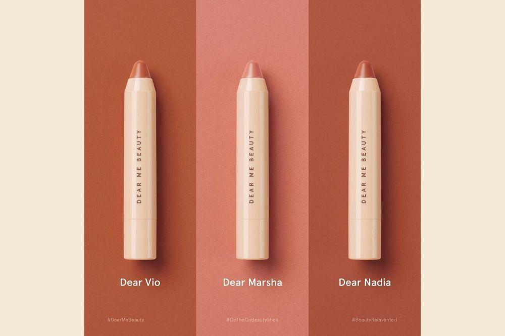 Ini 3 Warna Baru dari Dear Me Beauty 3-in-1 Multistick Crayon