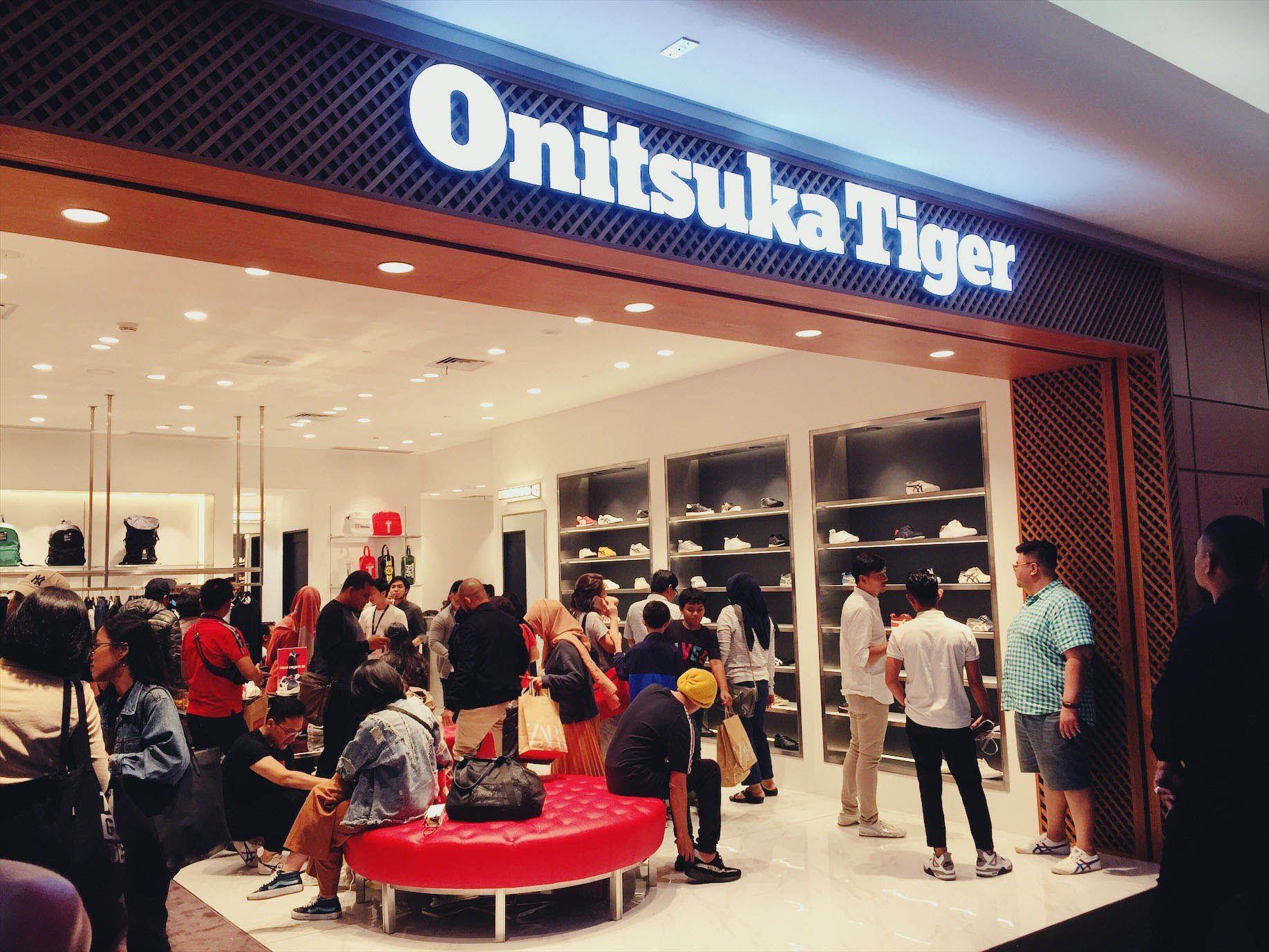 Onitsuka Tiger Buka Gerai Premium di Plaza Indonesia, Lebih Eksklusif!