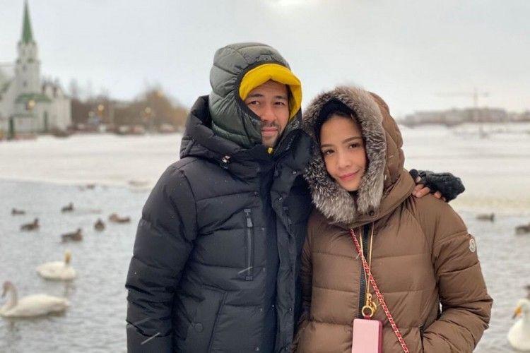 Intip Keseruan Raffi Ahmad dan Nagita Slavina Jalan-Jalan di Islandia