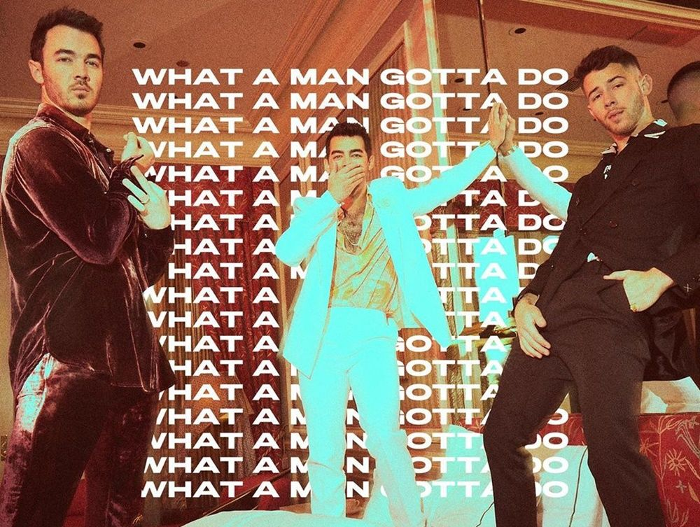 Ajak Istri di Video Klip, Jonas Brother Rilis Lagu What A Man Gotta Do