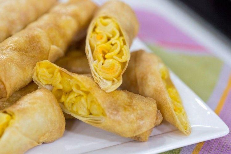 Crispy dan Creamy, Resep Lumpia Mac & Cheese ini Wajib Dicoba