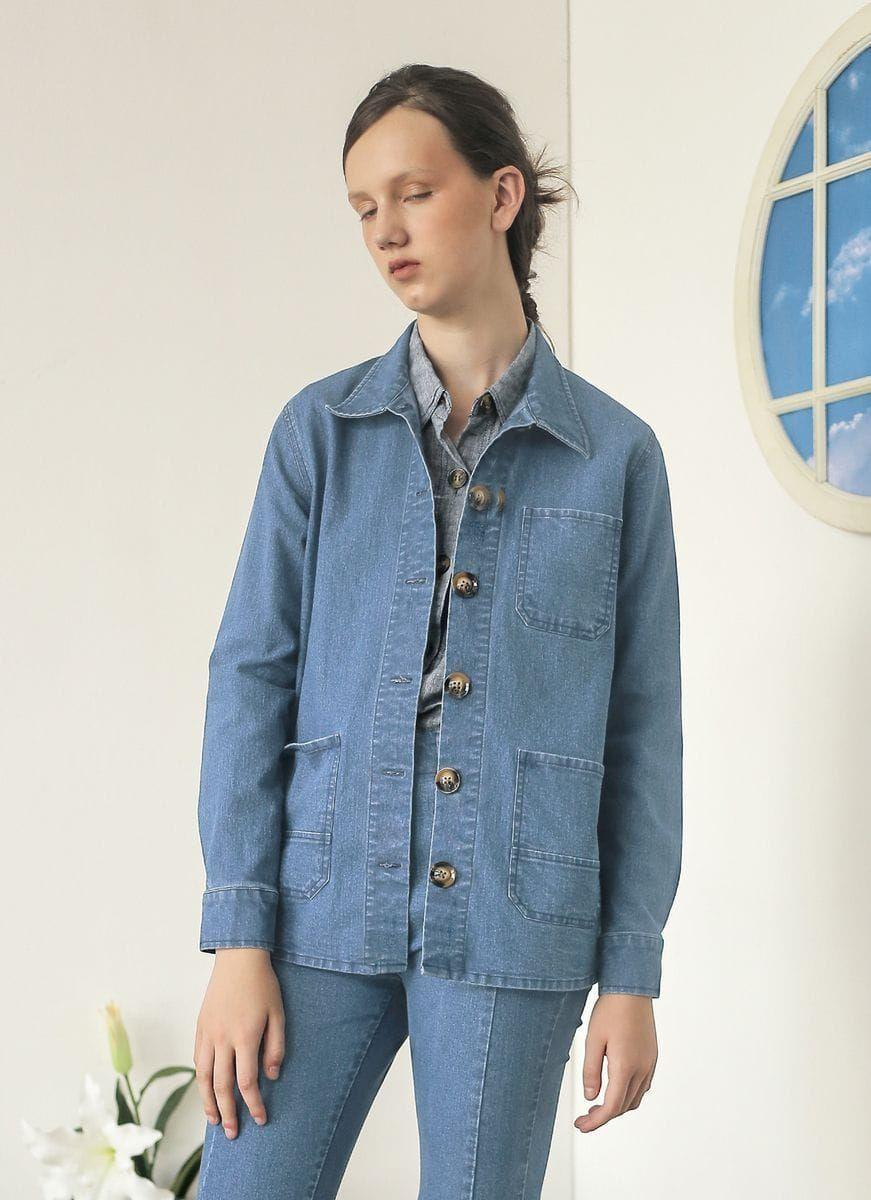 #PopbelaOOTD: Jaket Denim untuk Gaya yang Makin Keren!