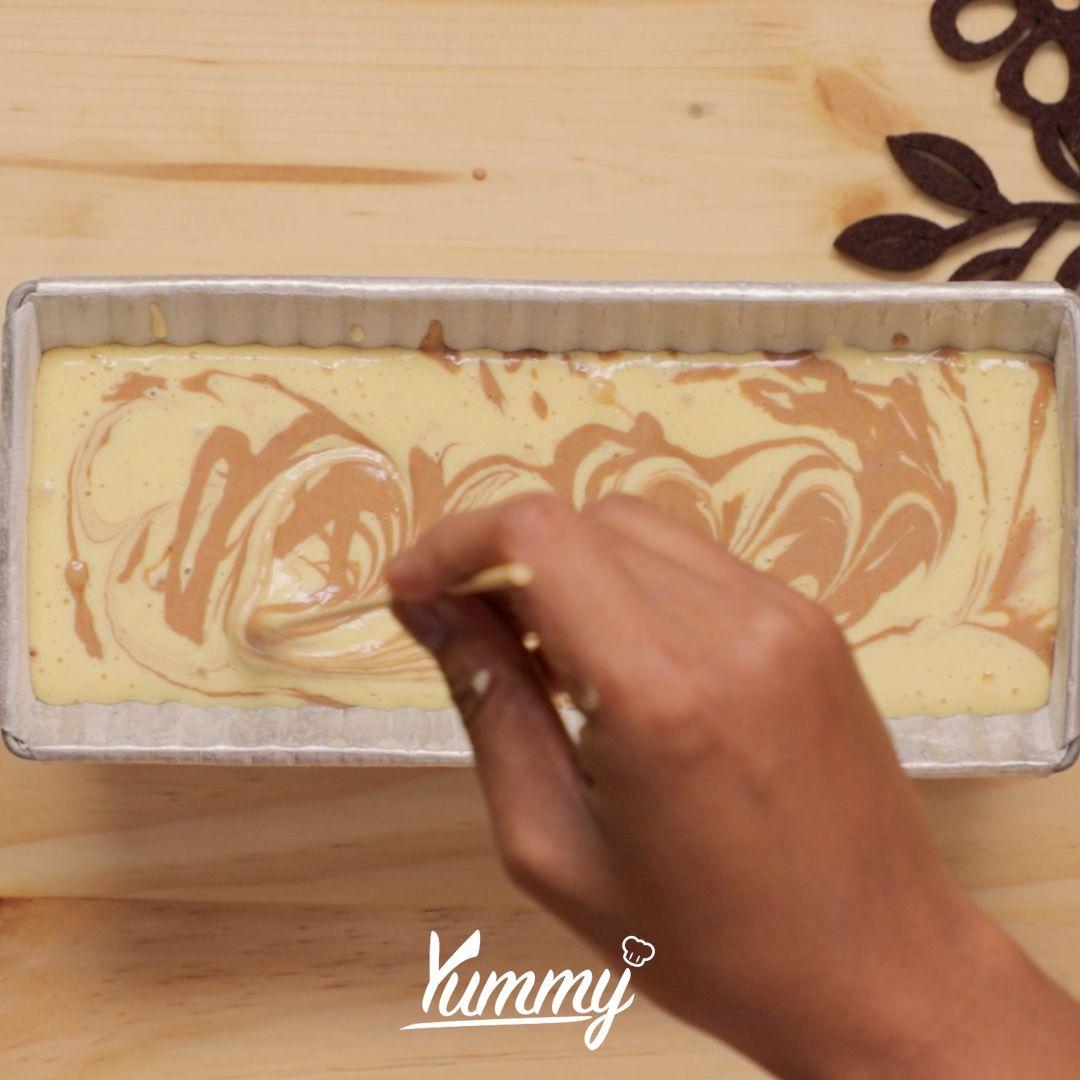 Resep Chocolate Marble Cake, Buat Si Pecinta Manis