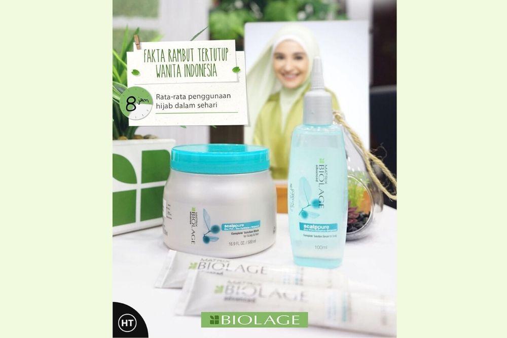 Peringati Hari Hijab Dunia, Biolage Hadiahkan Perawatan untuk Rambut